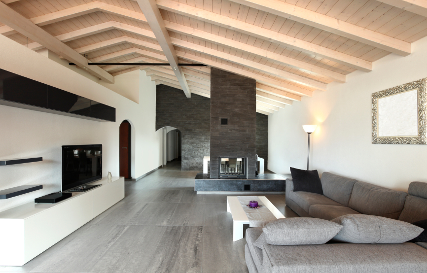 living room with stone fireplace. modern living room stone fireplace with